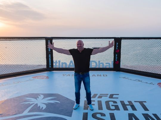 UFC President Dana White says Fight Island is 'here to stay' in 'perfect' Abu Dhabi
