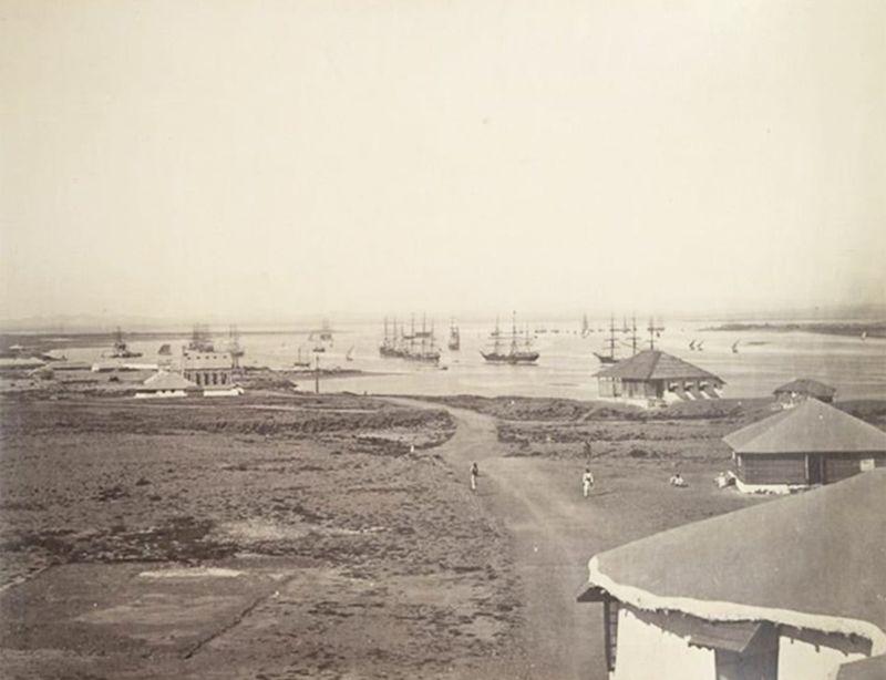 karachi port 1800's-1595253562056