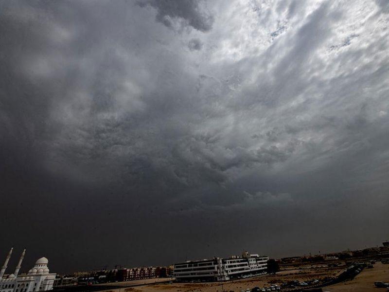 Dubai clouds