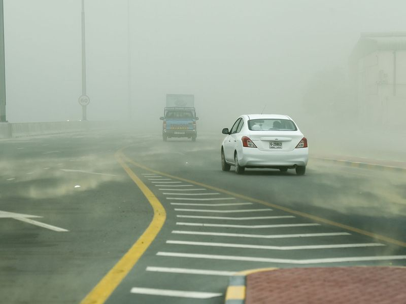 Dusty  weather
