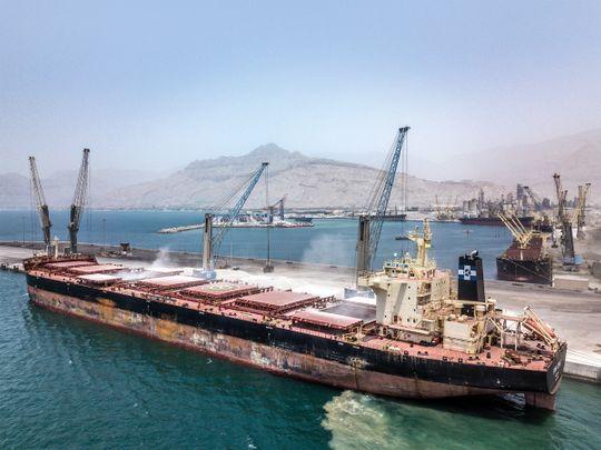 Lead Saqr Port