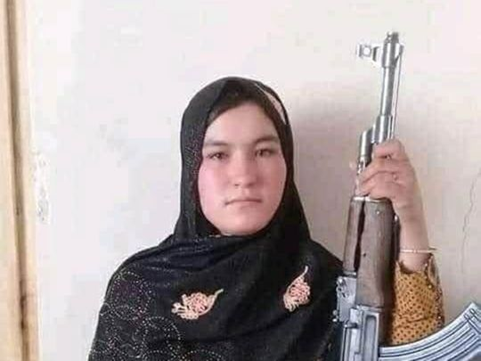 Afghan Girl Kills Two Taliban Fighters After Parents