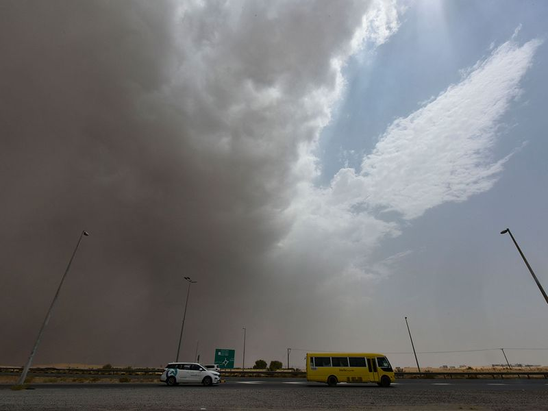 Sharjah clouds