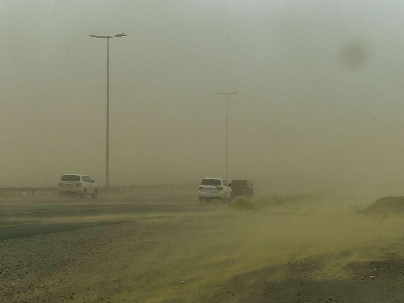 Sharjah storm
