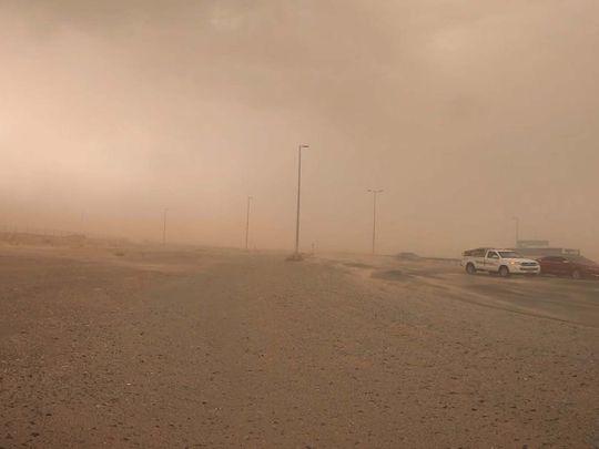 UAE weather: Dusty skies, chance of rain in Dubai, Sharjah