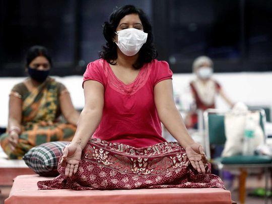 Yoga coronavirus Delhi