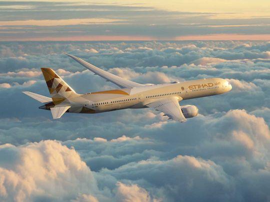 Stock Etihad Airways Boeing