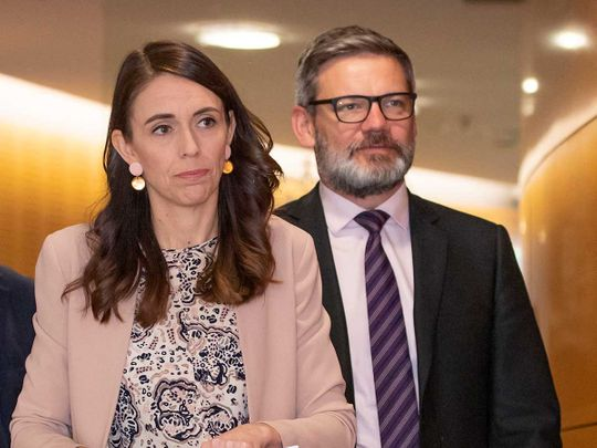Jacinda Ardern New Zealand Prime Minister Lees-Galloway