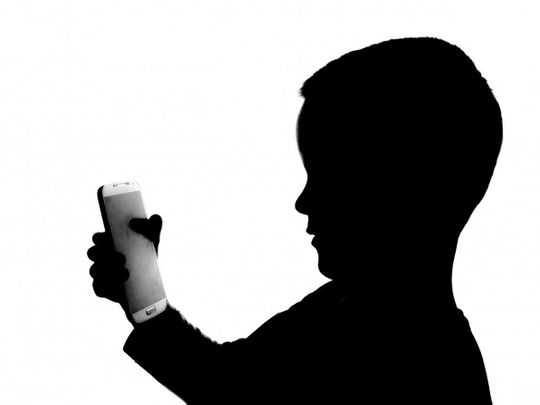 Mobile phone child
