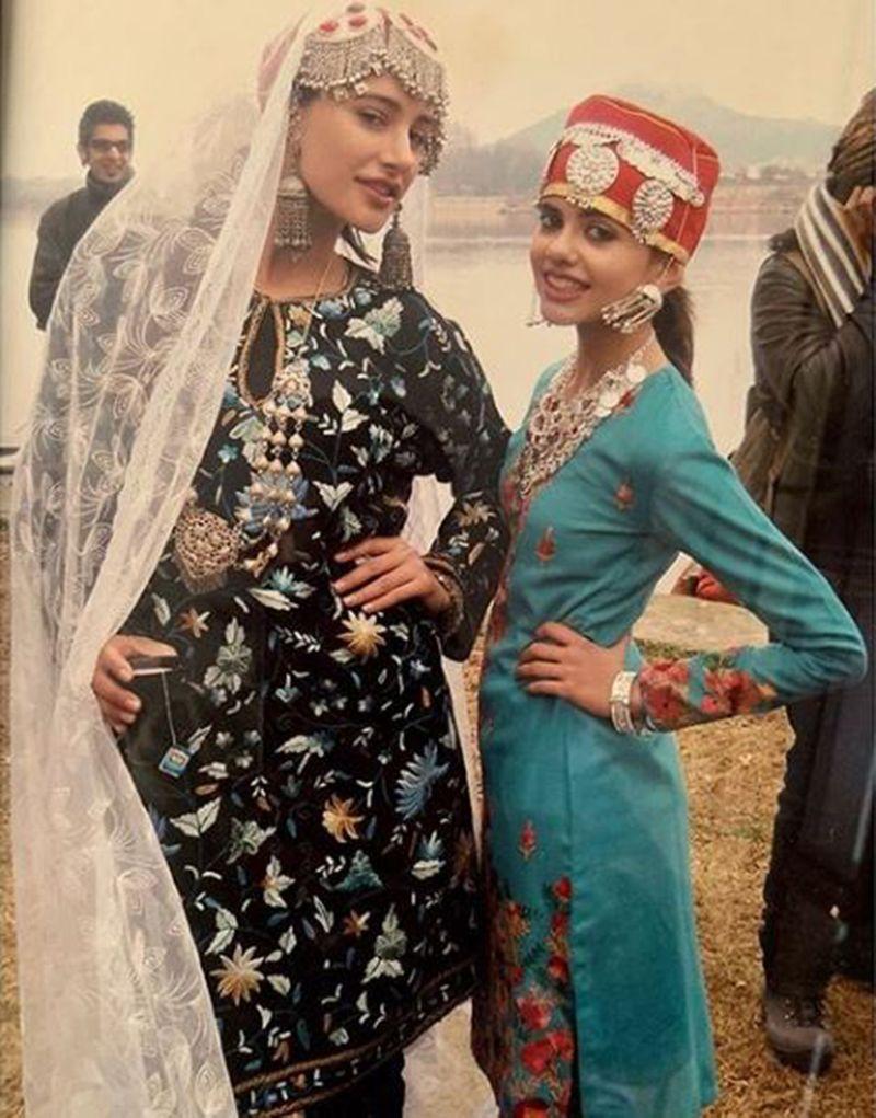 Nargis Fakhri and Sanjana Sanghi in Rockstar