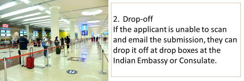 Option 2: Drop-off
