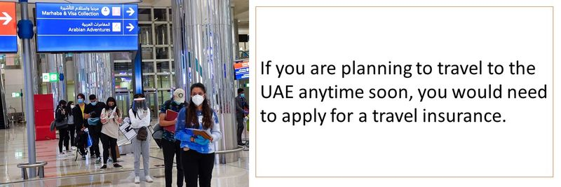 Planning to travel to the UAE? You need travel insurance covering COVID-19