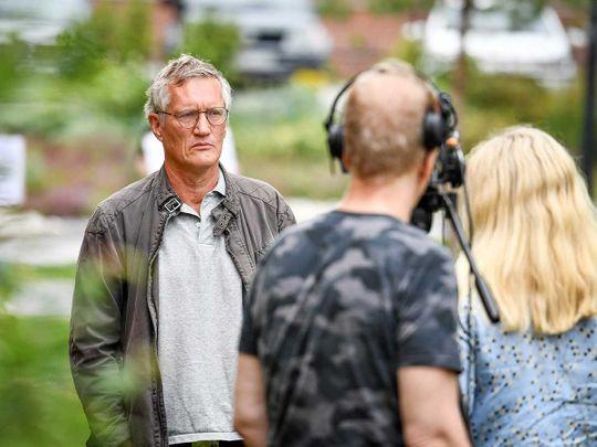 Sweden epidemiologist Anders Tegnell