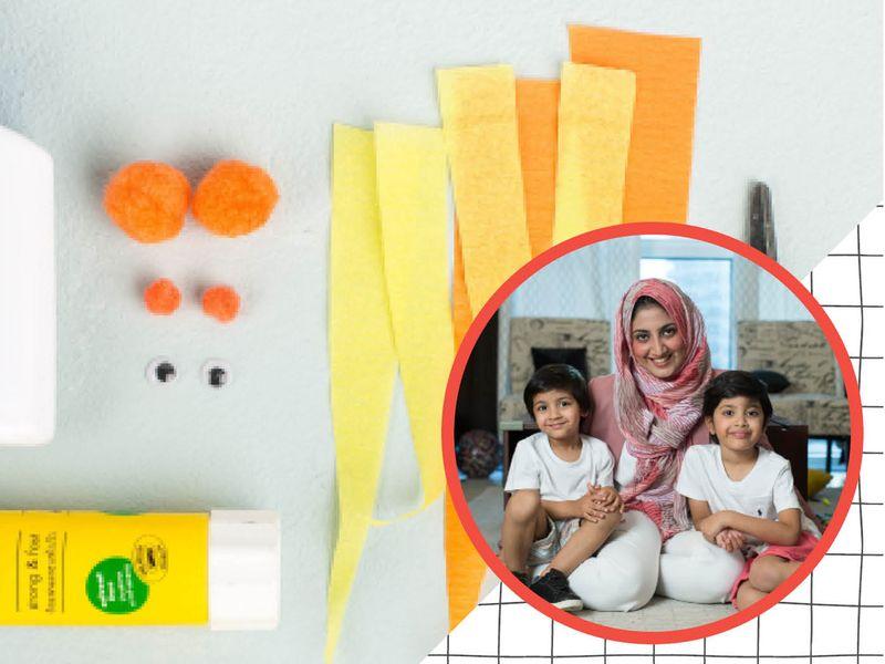Zeina Shoaib and children