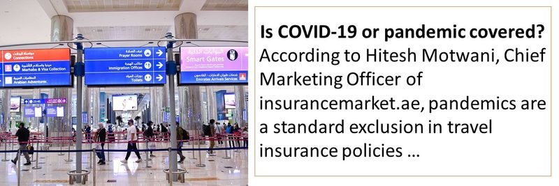 pandemics are a standard exclusion in travel insurance policies