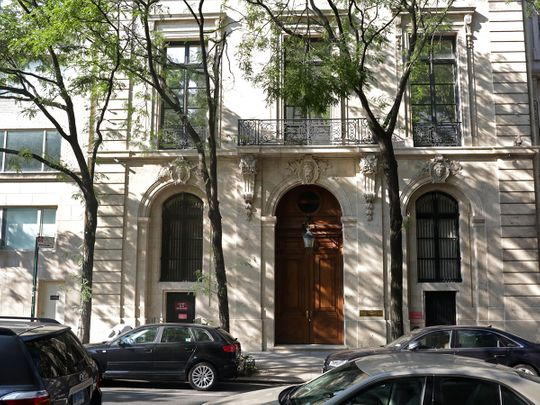 Jeffrey Epstein's 28,000-square-foot townhouse