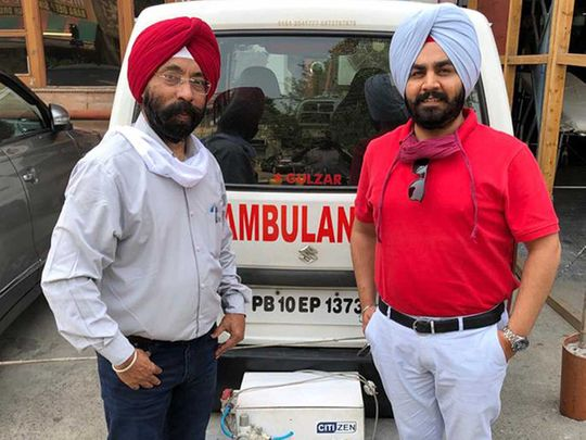 Manjinder Singh Sachdeva Vikram Chhabra ventilator ambulance traditional business