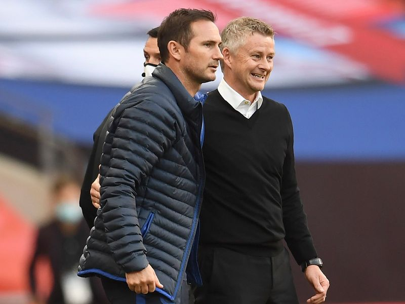 Ole Gunnar Solskjaer and Frank Lampard are chasing Champions League football