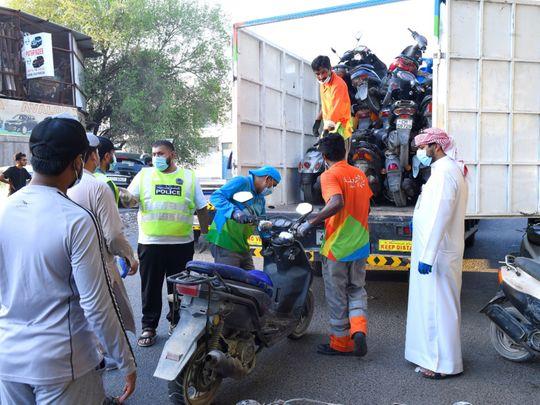 Bikes seized