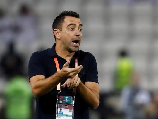 Barcelona legend Xavi is now coach at Al-Sadd in Qatar