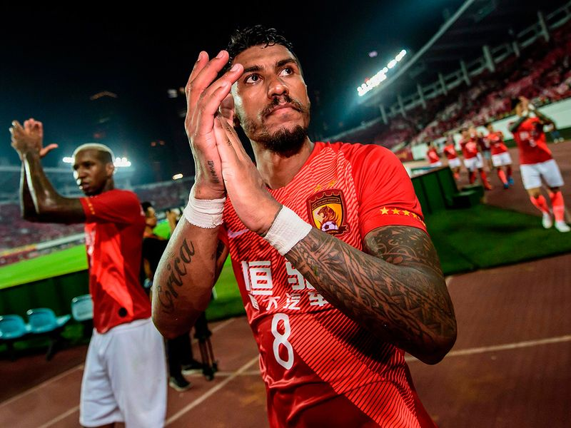 China's Guangzhou Evergrande will rely on stars such as Paulinho