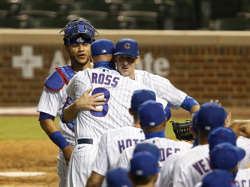 Cubs 3, Brewers 0: Kyle Hendricks became the first Chicago starter in 46 years to go the distance on Opening Night, firing a three-hit shutout