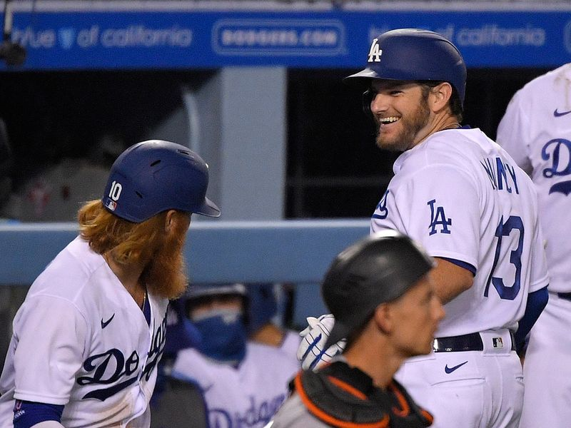 Dodgers 9, Giants 1 Max Muncy hit two home runs, and Ross Stripling tossed seven strong innings as Los Angeles won for the second time in two nights, beating visiting San Francisco.