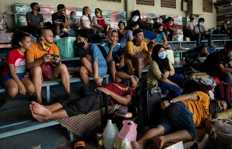Filipinos stranded due to the coronavirus disease (COVID-19)