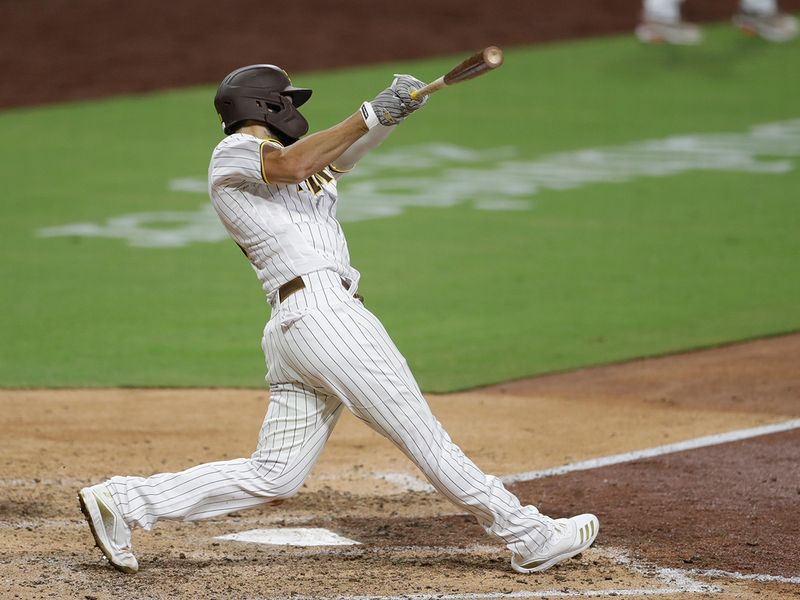 Padres 7, Diamondbacks 2: Eric Hosmer drove in a franchise Opening Day-record six runs with a pair of two-out, three-run doubles to lead San Diego over visiting Arizona.