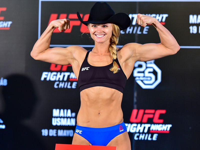UFC fighter Andrea Lee