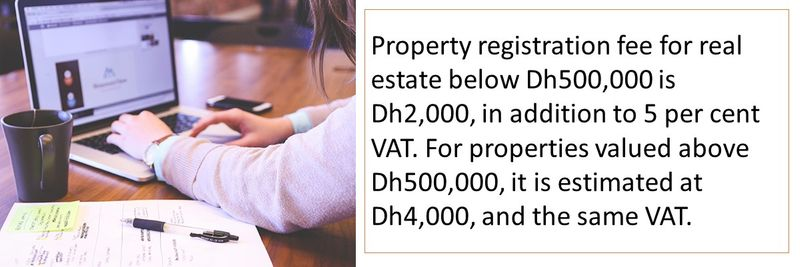 Costs to consider when buying a house in the UAE