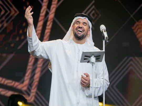 Emirati Singer Hussain Al Jassimi