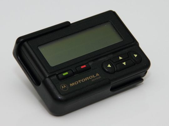 Old pager Motorola