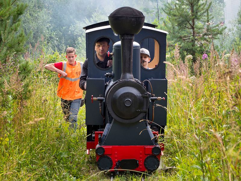 Russia mini-railway gallery