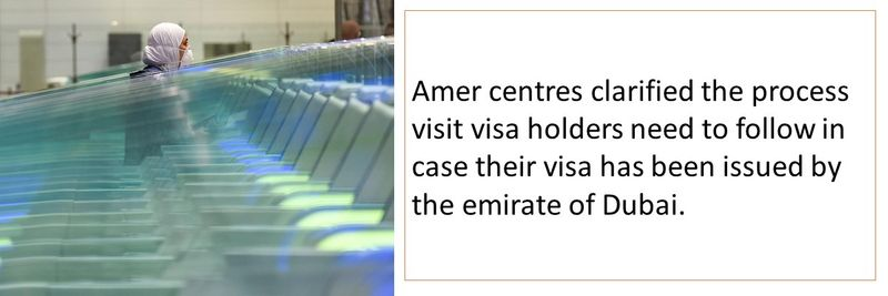 Amer centres clarified the process