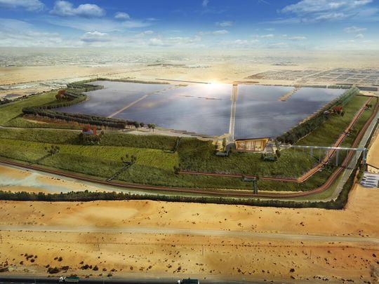 Bee'ah solar plant
