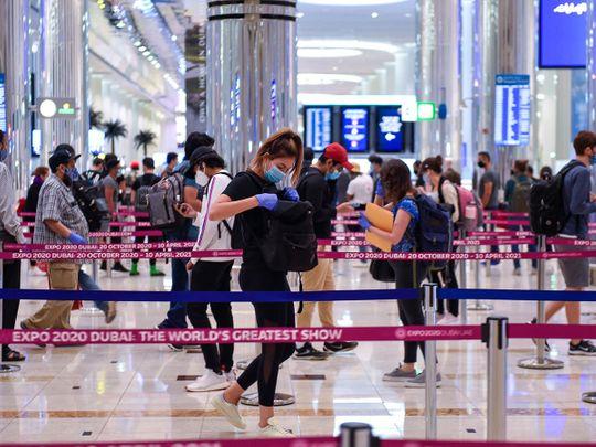 Dubai visit visa expired