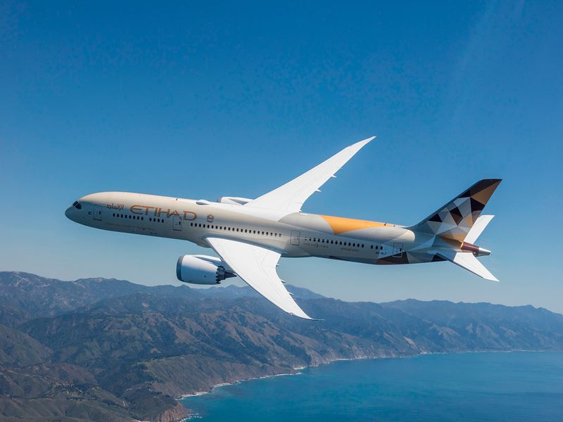 Stock Etihad Airways