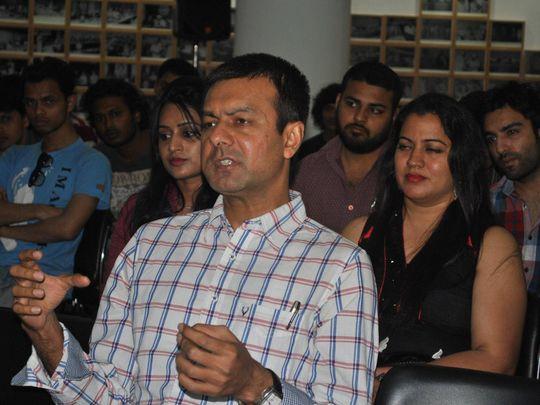 TAB Festival Director Harsh Narayan at an event-1595836932882