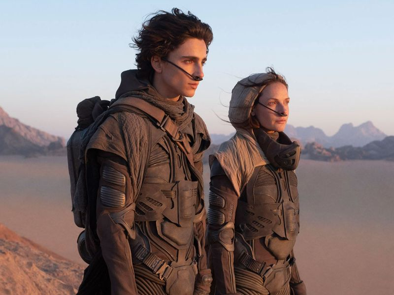 Timothee Chalamet and Rebecca Fergusson in 'Dune' adaptation