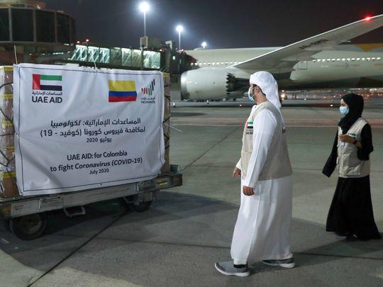 WAM UAE AID COLOMBIA-1595860117801