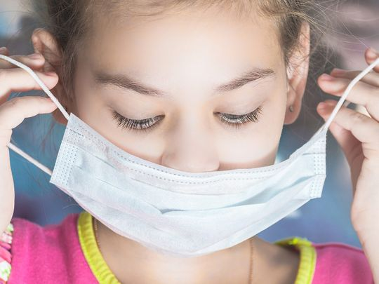Children and face masks