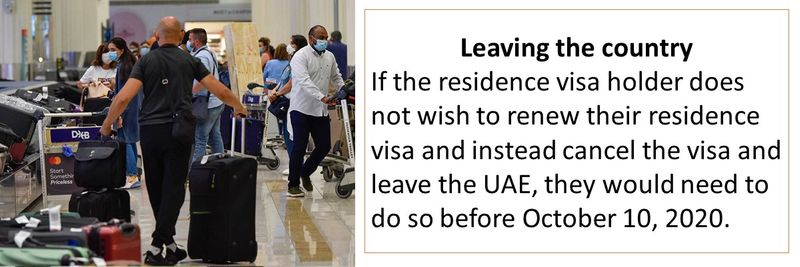 If you don't want to renew your visa you would need to cancel before exit