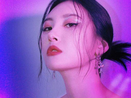 K-Pop star Sunmi
