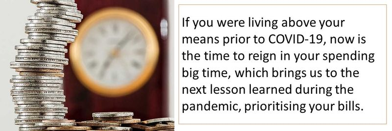 Top financial lessons learned during the pandemic