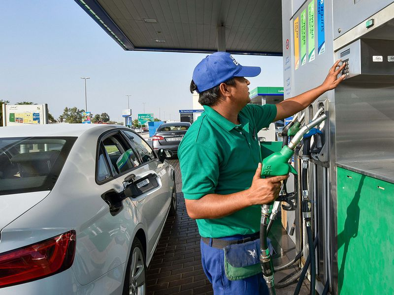 UAE fuel prices for August 2021