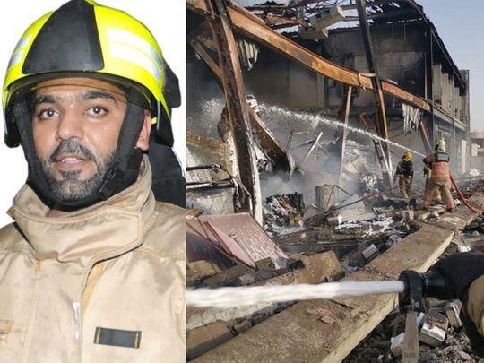 DIP firefighter death