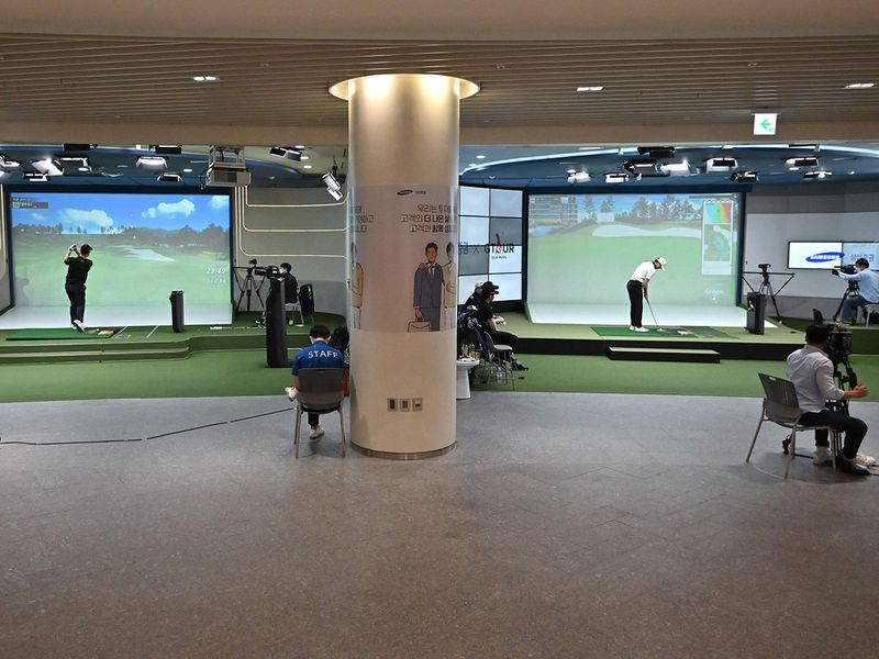How screen golf got serious in South Korea