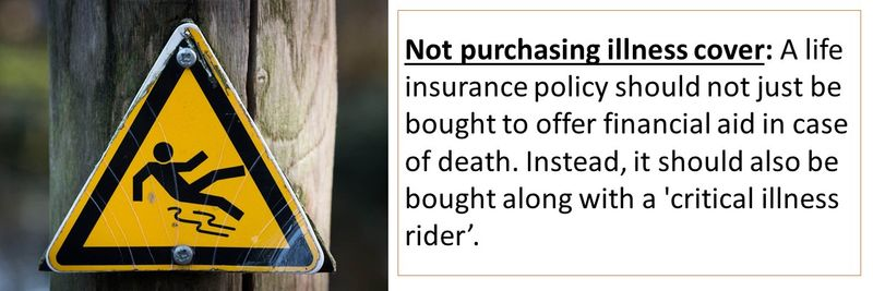 Most common mistakes when buying life insurance