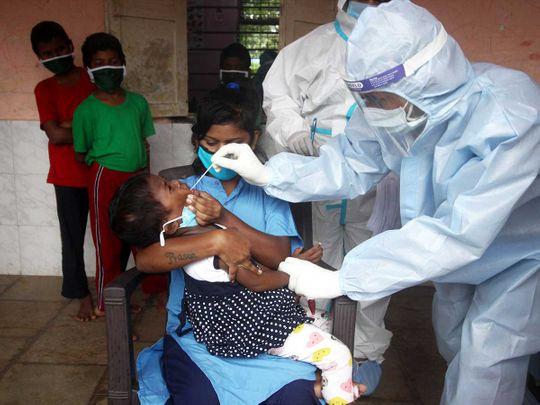 Mumbai health workers India coronavirus PPE